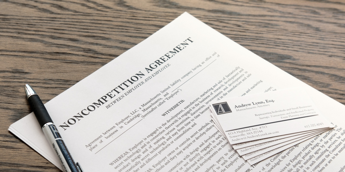 Massachusetts House Passes Noncompete Restrictions The Law Office